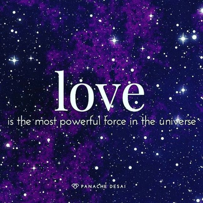 love is the most powerful energy in the universe